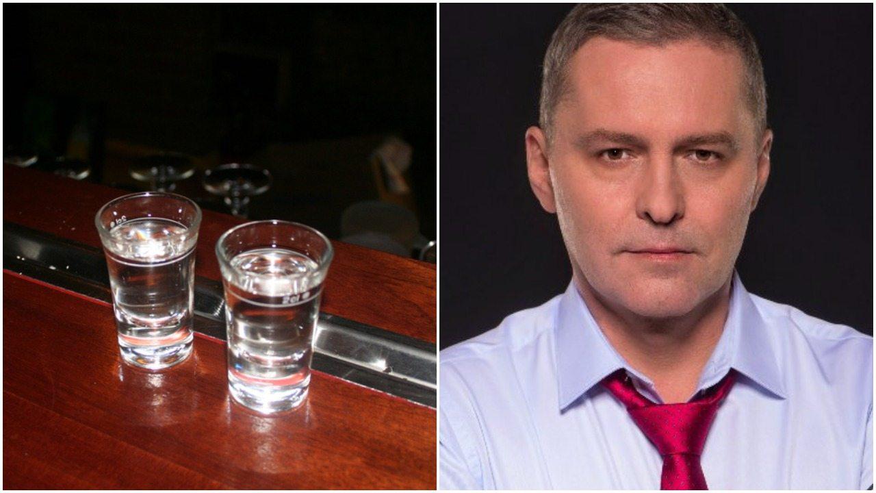 Gmyz zmasakrowany. Wykłócał się, że Kaczyński nie pił wódki w Magdalence (zdjęcia)