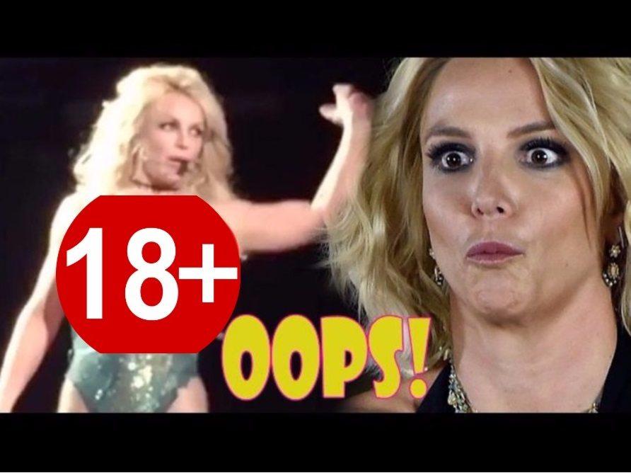 Potężna wpadka Britney Spears. Nie zorientowała się i paradowała po scenie z nagimi piersiami (video +18)