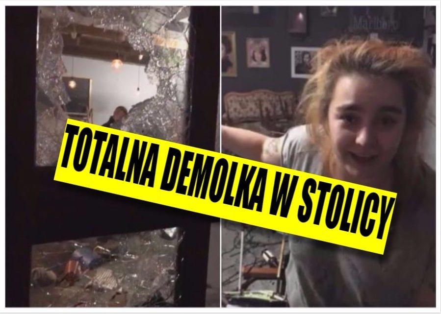 Demolka w Warszawie! Kibice Legii roznieśli lokal, bo pili tam fani Ajaxu (video)