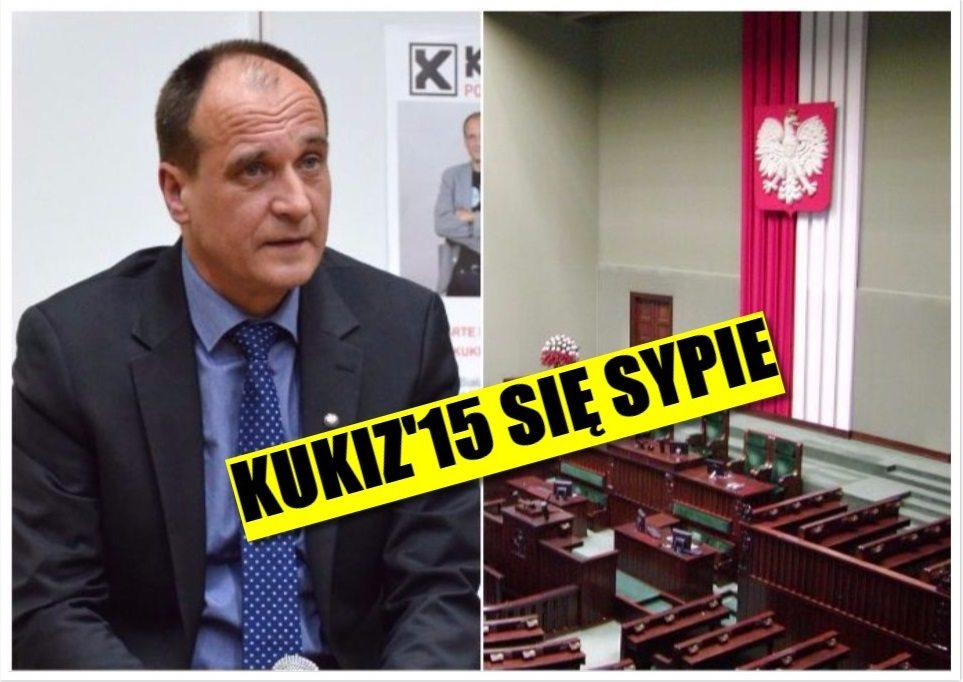 Klub Kukiz'15 się sypie. Odchodzą posłowie