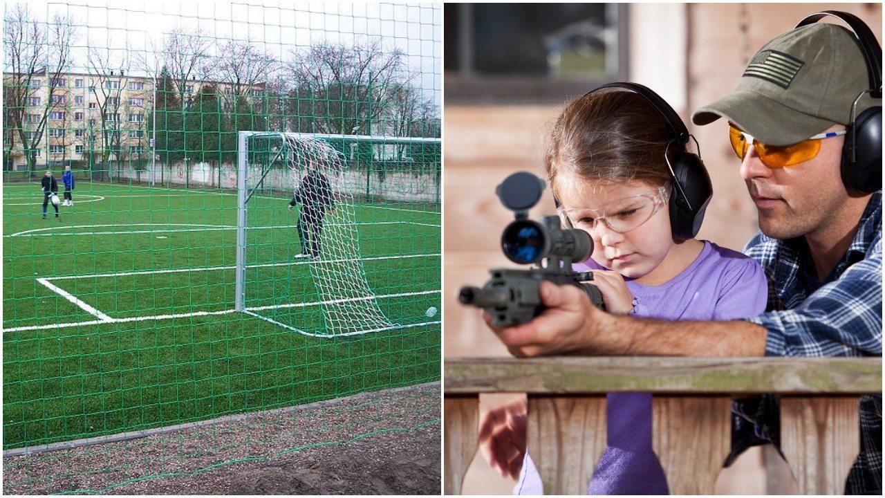 Rządy PO dały Orliki, za to PiS będzie... uczyć dzieci strzelać