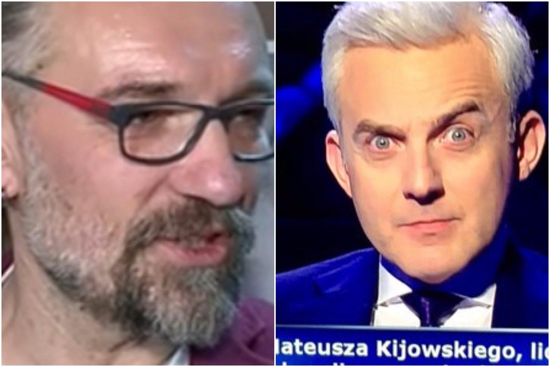 """W """"Milionerach"""" padło """"złośliwe"""" pytanie o Kijowskiego! Uczestniczka miała problem... (FOTO)"""