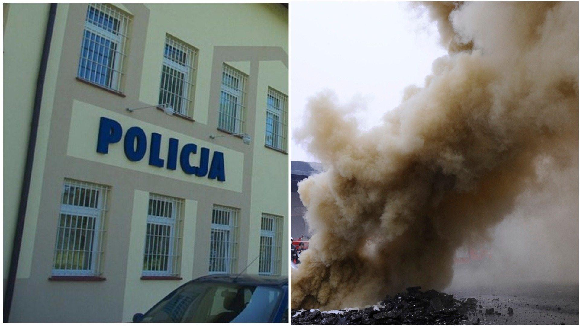 Atak bombowy na komisariat w Kłodawie. Budynek zatrząsł się w posadach