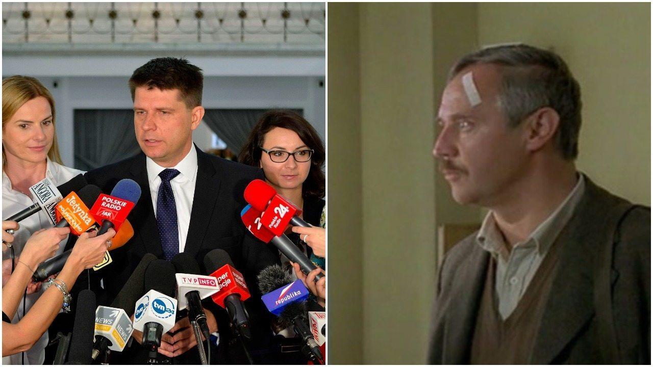 Wpadka Petru podbija internet. Adaś Miauczyński nie byłby zadowolony (VIDEO)
