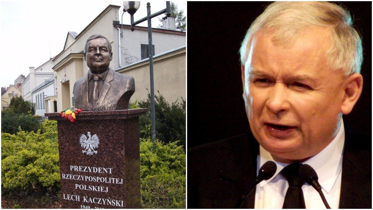Marszałek senatu: Będziemy stawiać pomniki Jarosławowi Kaczyńskiemu