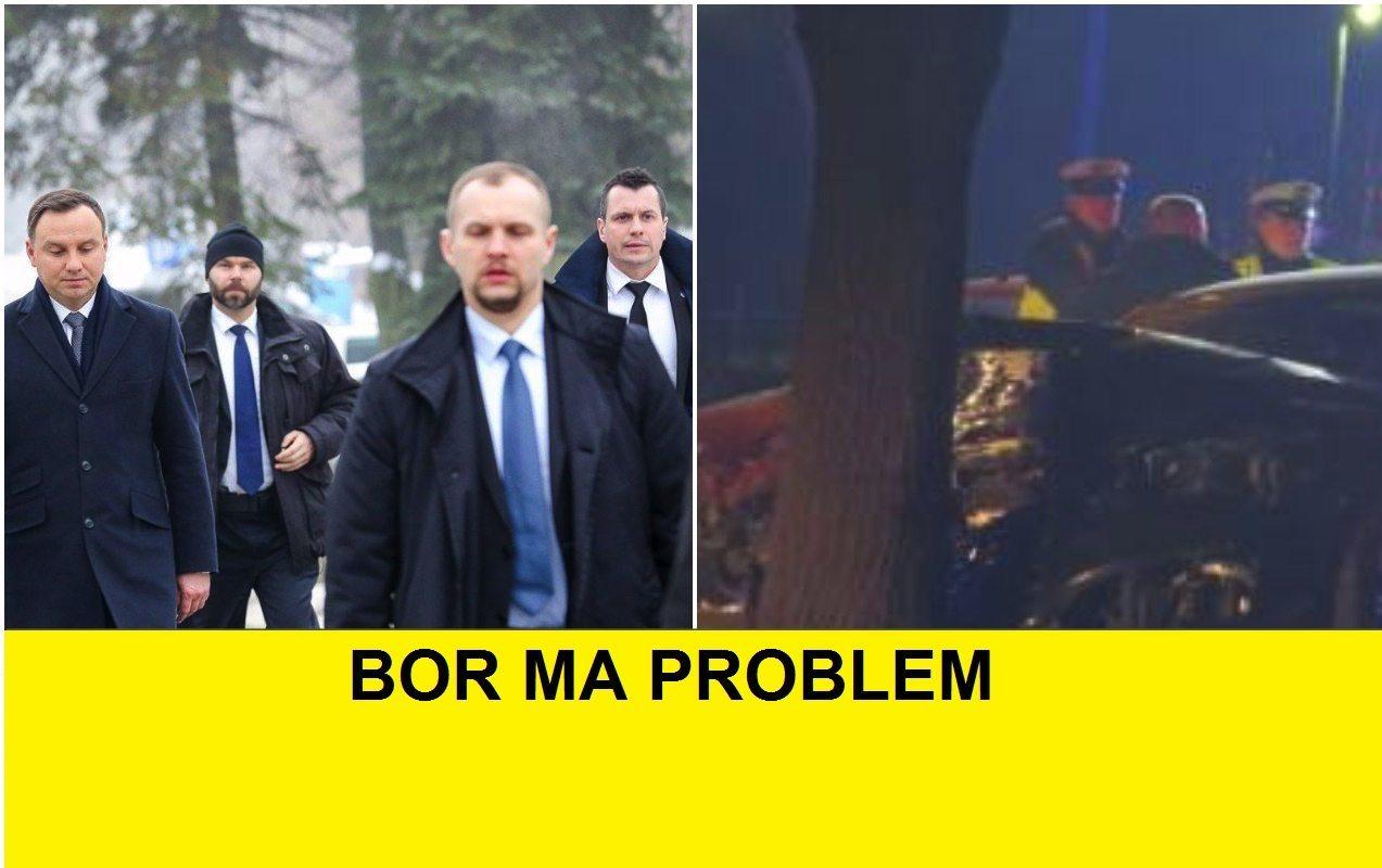 Ogromne kłopoty BOR-u po wypadku Szydło. MSW nie ma litości