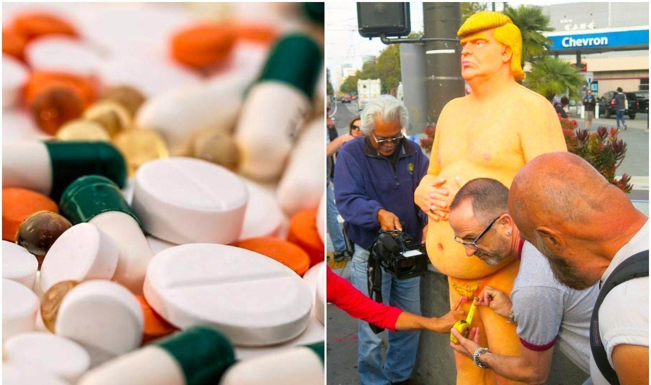 Osobisty lekarz ujawnił jakie leki bierze Trump. Przeciwnicy kpią: To nie jest prawdziwy mężczyzna!