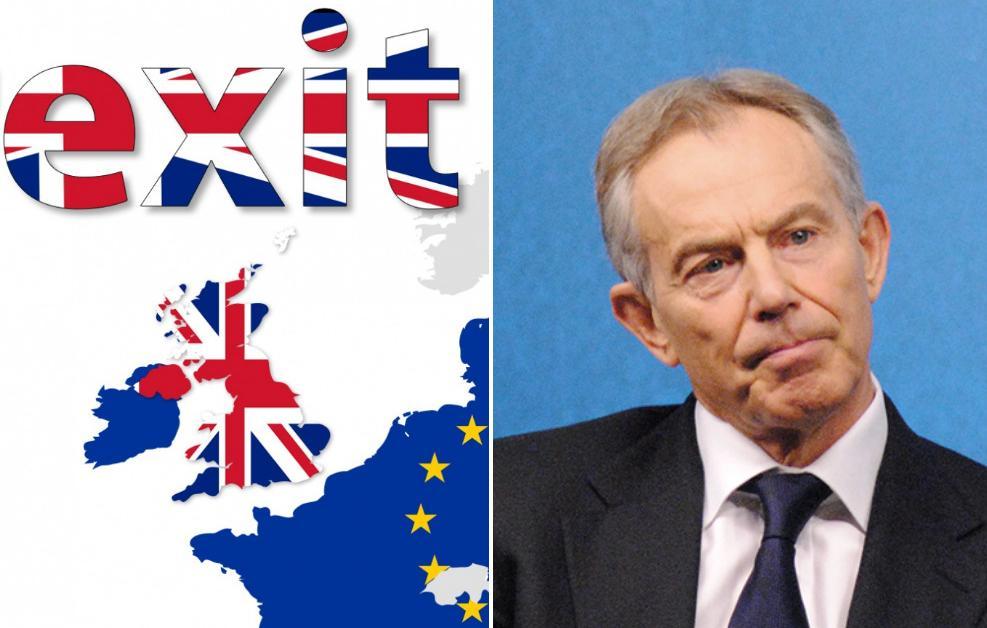 Tony Blair oficjalnie wyraził opinię w sprawie Brexitu