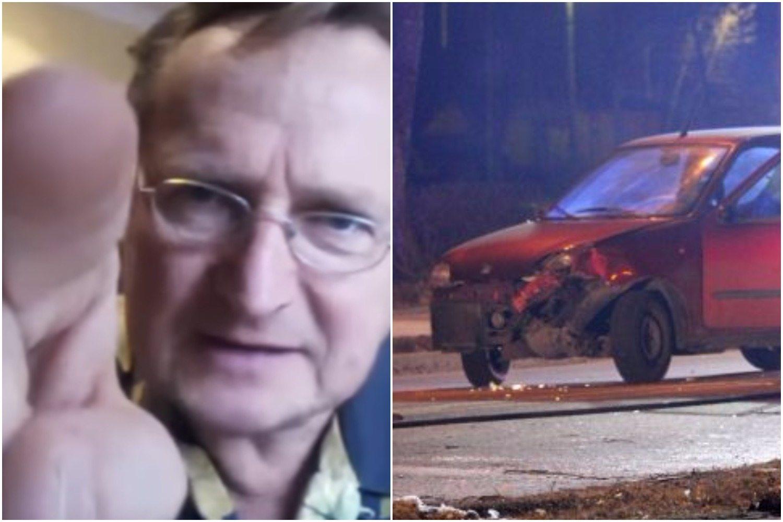 """Cejrowski ostro. Domagał się STARANOWANIA kierowcy Seicento przez BOR. """"To idiota!"""""""
