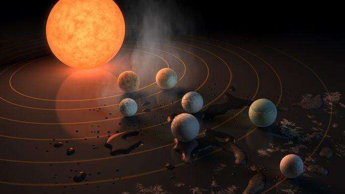 NASA potwierdza przełomowe odkrycie - 7 identycznych planet do Ziemi blisko nas (VIDEO + ZDJĘCIA)