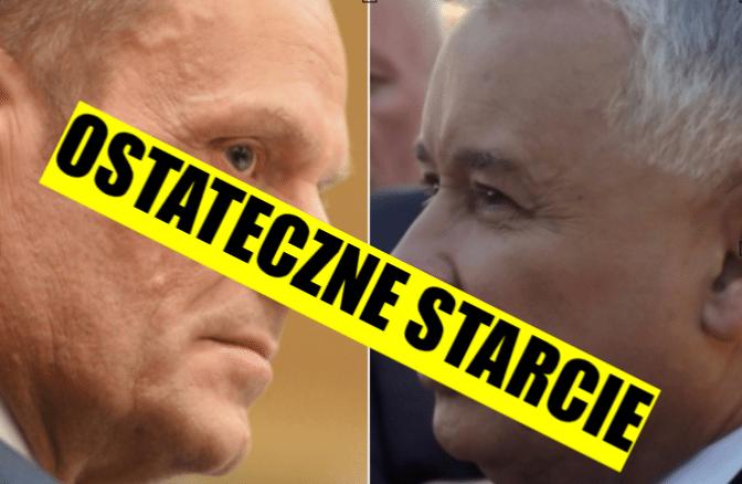 Kaczyński zadał Tuskowi cios, ale teraz dostał potężną odpowiedź. Kto wygra to starcie? Na razie remis