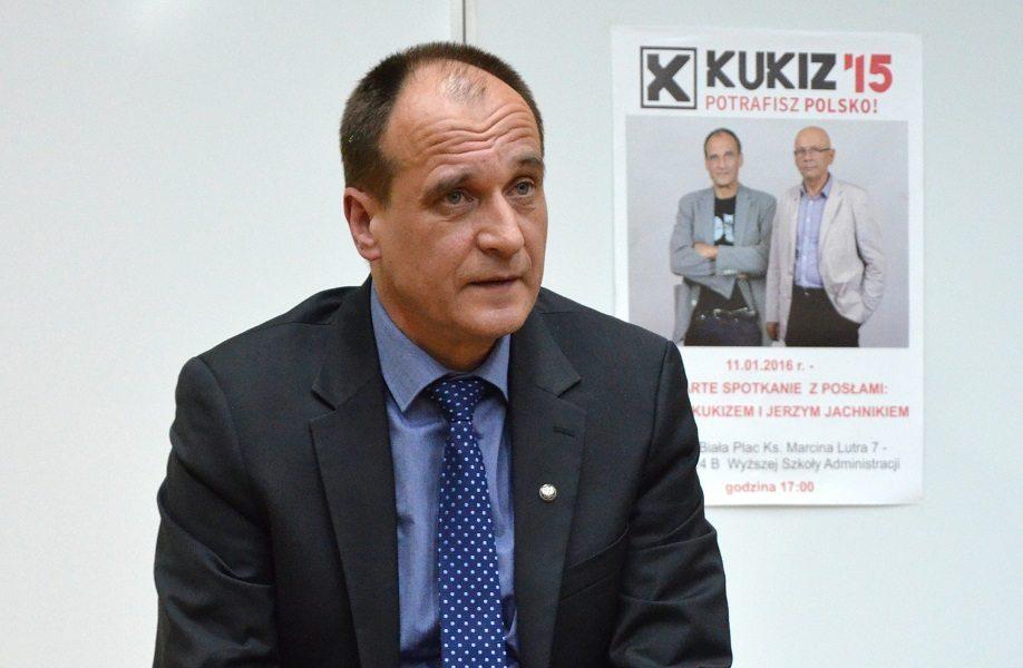 Kukiz: To mieszkanie za 25 tysięcy należało mi się jak psu buda