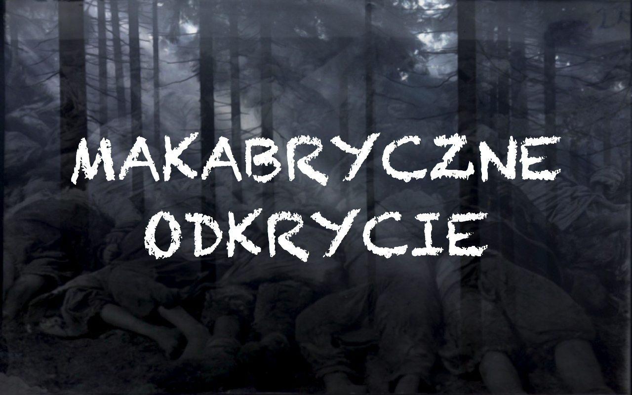 Makabryczne odkrycie pod Bydgoszczą. 300 ciał bez rąk i głów
