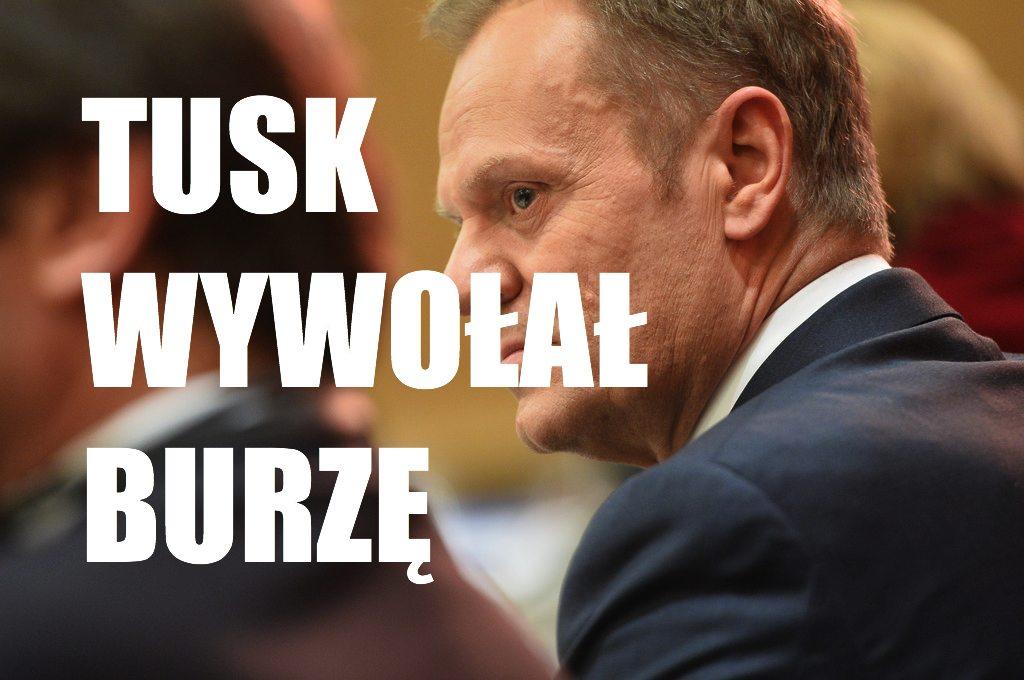 Tusk ostro odpowiedział Erdoganowi. Nieświadomie wywołał prawdziwą burzę