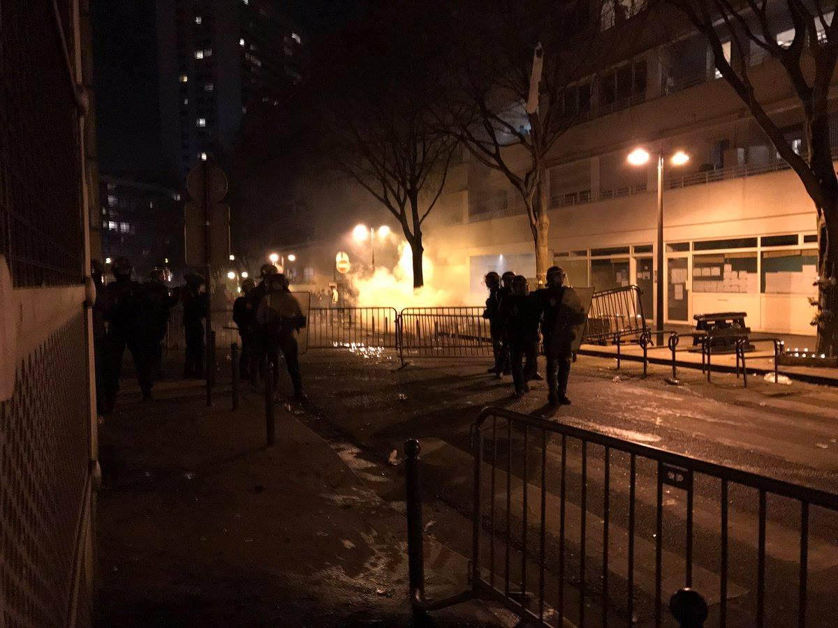 Paryż: Chińczycy urządzili wielką demolkę (VIDEO)