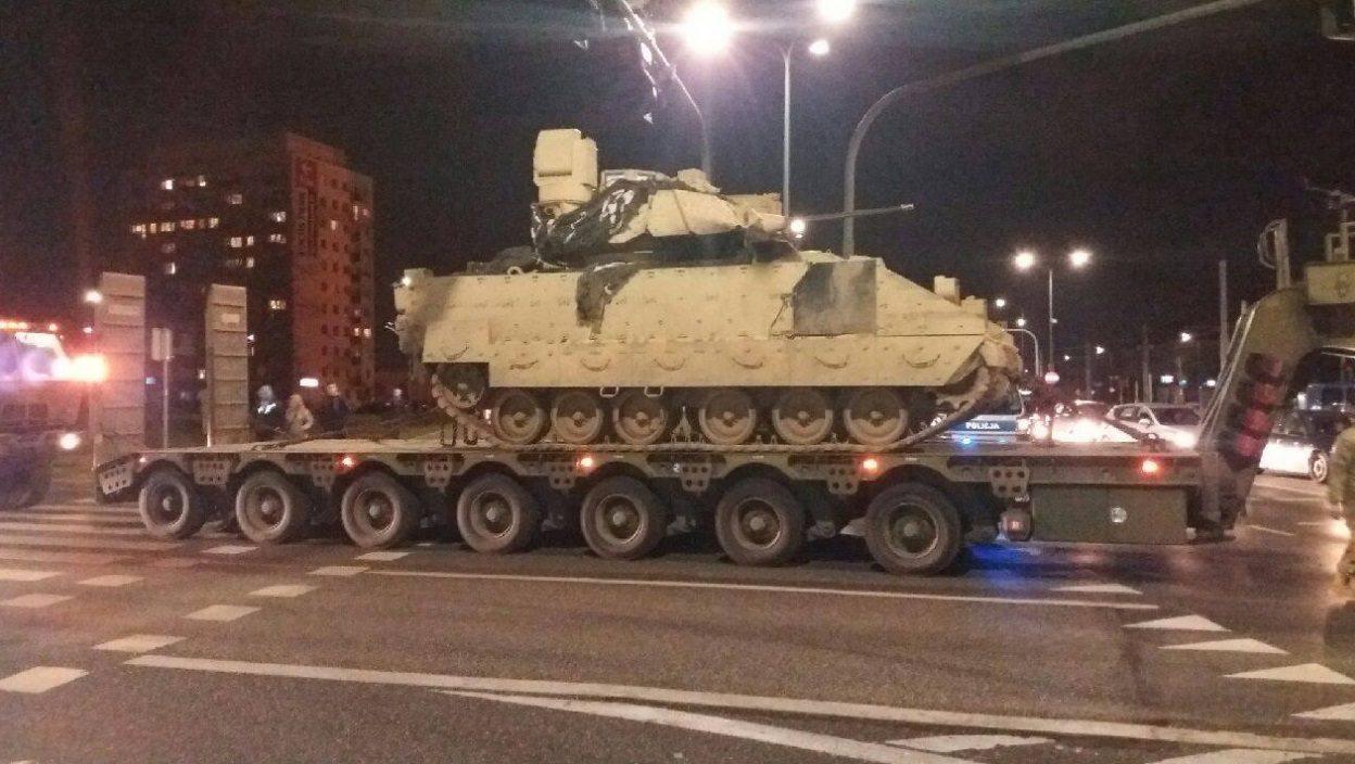 Wypadek wojskowej kolumny w Bydgoszczy (ZDJĘCIA)