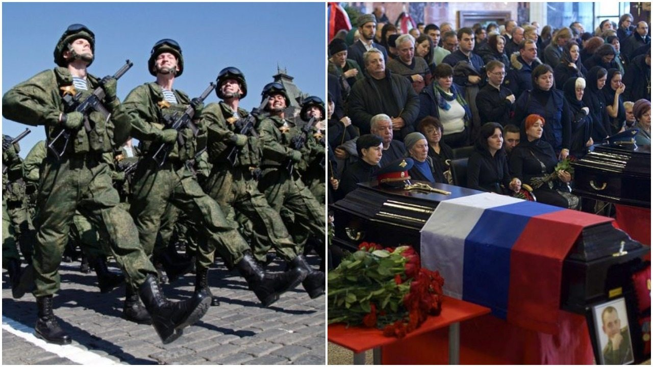Na co szykuje się Rosja? Kupiła dziesiątki tysięcy trumiennych flag