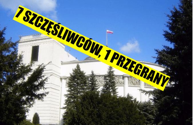 Najnowszy sondaż: Aż 7 partii w Sejmie i tylko jeden PRZEGRANY!
