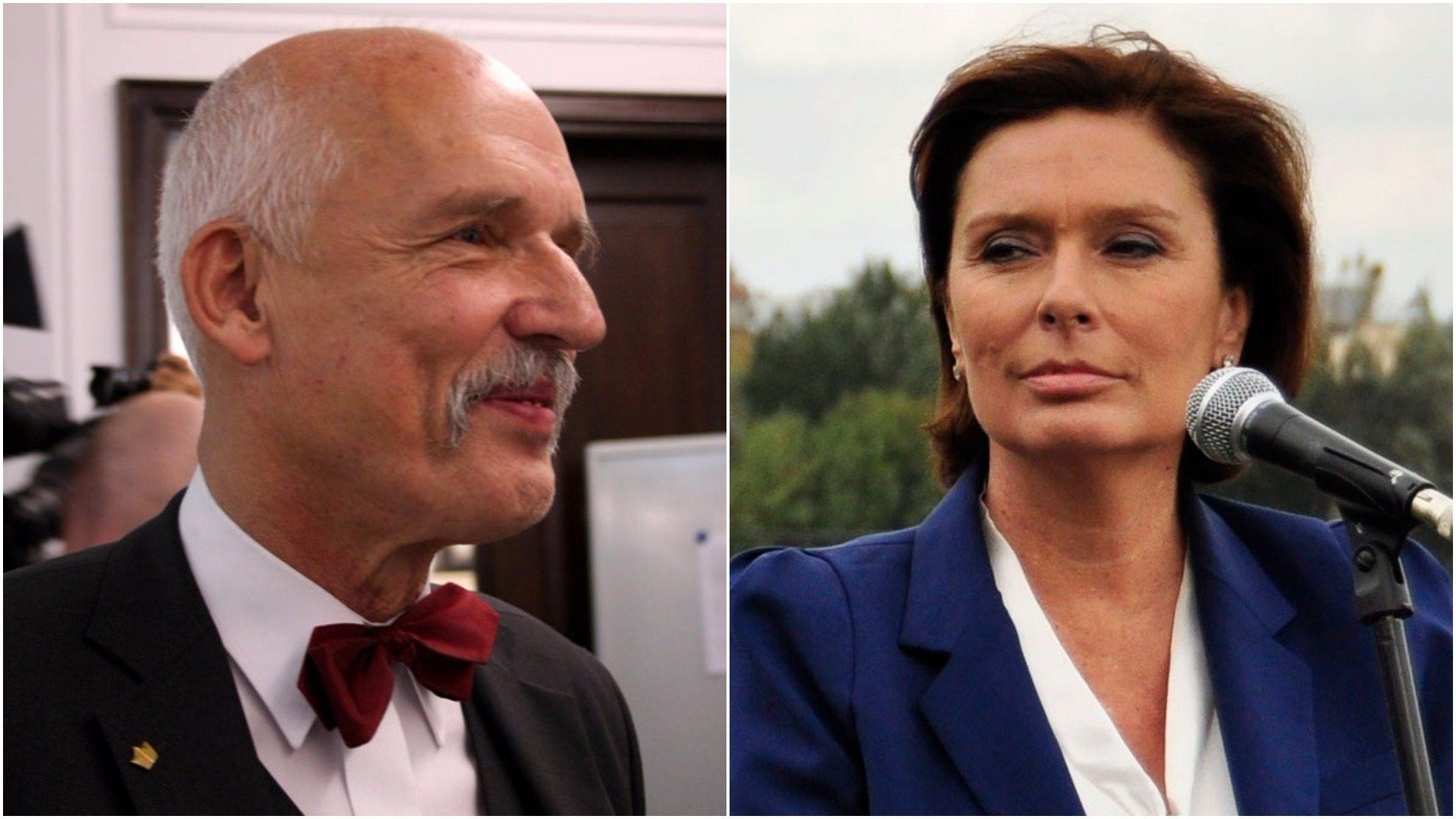 Korwin-Mikke komentuje Dzień Kobiet. Posłanka opozycji nie wytrzymała
