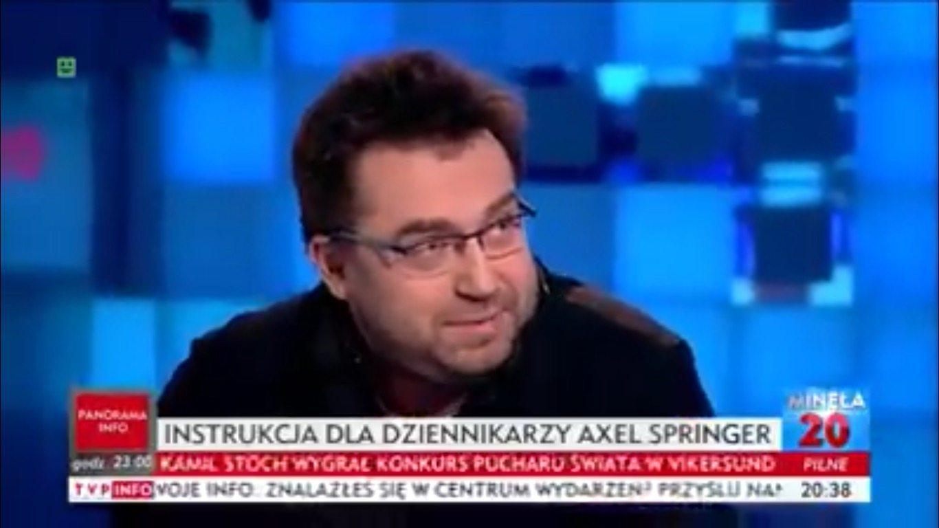 Tego nie da się inaczej nazwać. Węglarczyk po prostu wdeptał w ziemię dziennikarzy TVP (VIDEO)