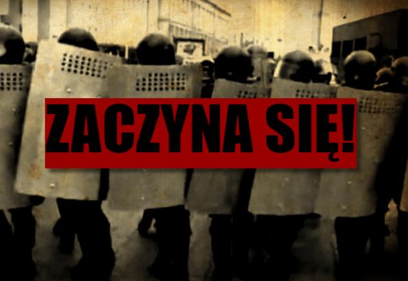 ZACZĘŁO SIĘ! Piekielnie ostry film z Białorusi, sytuacja wymyka się spod kontroli (VIDEO)