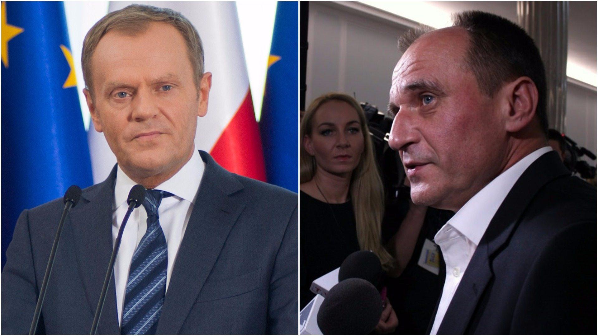Kukiz ostro o Tusku i Grupie Wyszehradzkiej