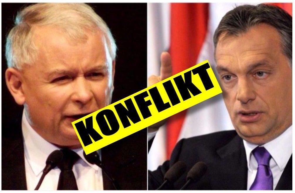 Poważny konflikt Kaczyńskiego z Orbanem. Poszło o...