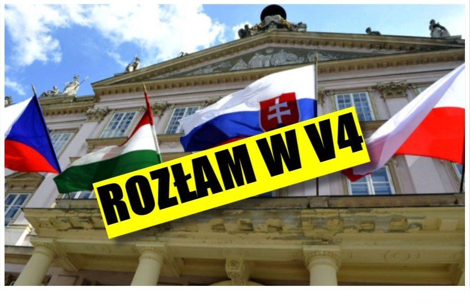 """PiS ma problem. Rozłam w Grupie Wyszehradzkiej - """"Polska popełniła błąd"""""""