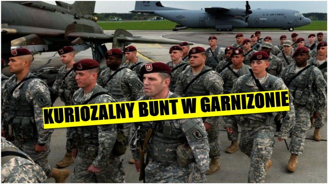 Amerykańscy żołnierze rozczarowani Polską. Jest kuriozalny bunt w garnizonie
