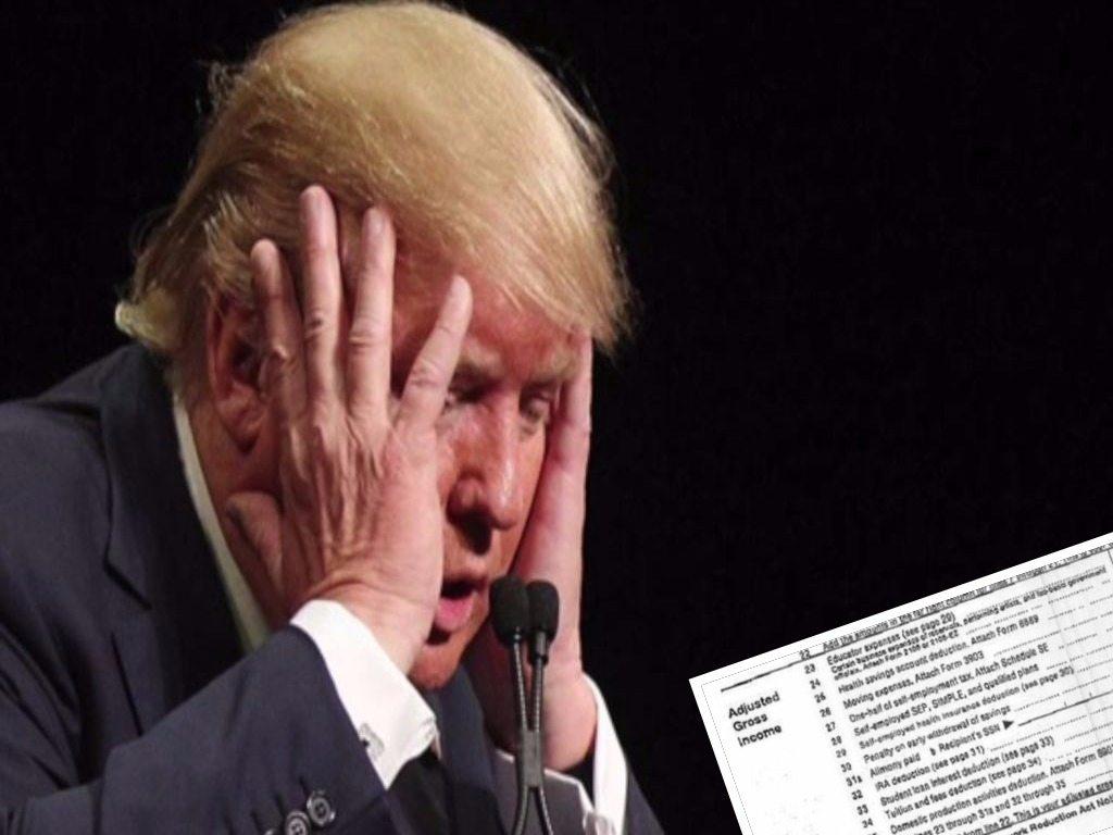 Trump robił wszytko, żeby te dokumenty nie wyszły na jaw. Dziennikarzom udało się je zdobyć!