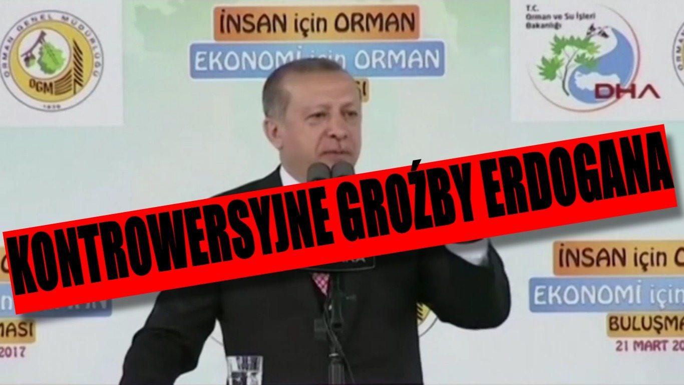 Kontrowersyjne słowa Erdogana. Groził Europie na moment przed zamachem w Londynie (VIDEO)