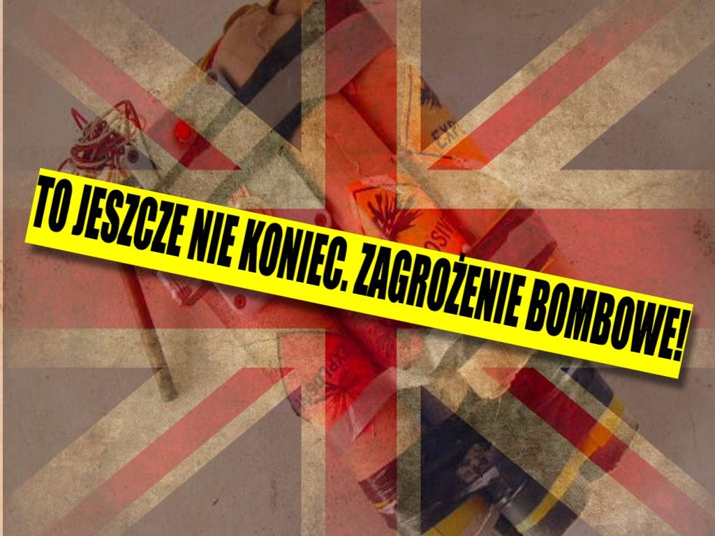 To jeszcze nie koniec. Zagrożenie bombowe w Londynie!
