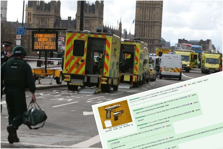 Tajemniczy wpis w sieci. Terroryści już we wtorek zapowiedzieli zamach w Londynie (FOTO)