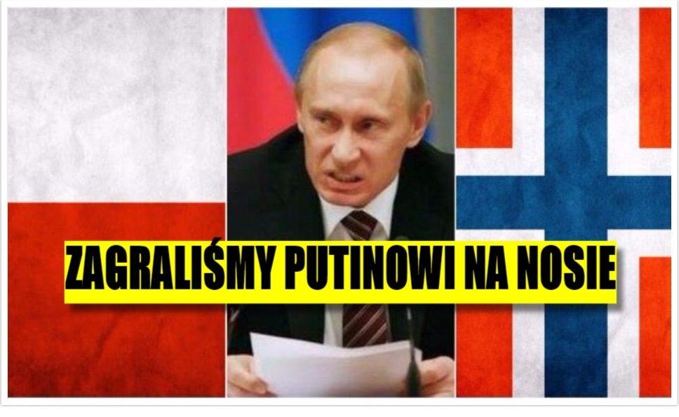 Polska zrobiła fantastyczny deal z Norwegią. Mocno zagraliśmy Putinowi na nosie