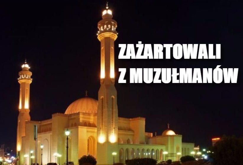 Ten dowcip rozwścieczył muzułmanów. Zamiast nawoływań do modlitwy usłyszeli... (VIDEO)