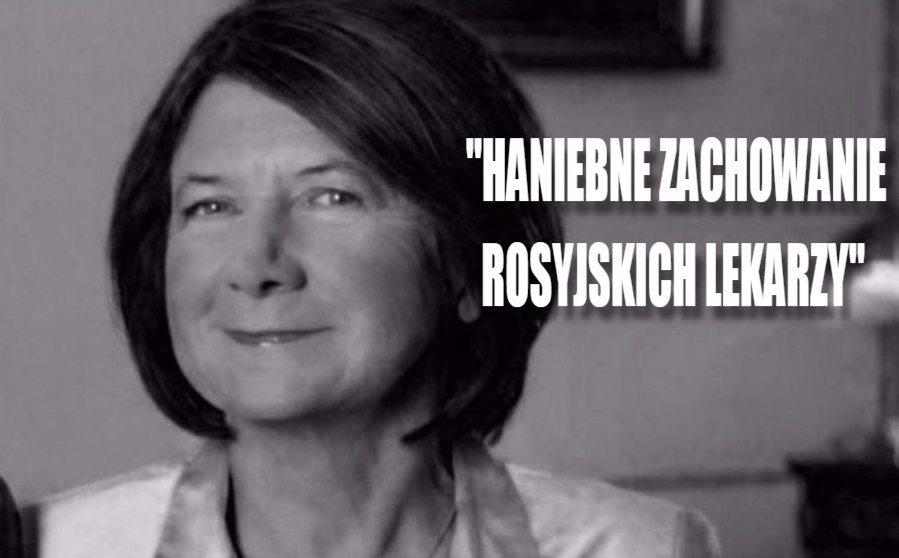 Barbarzyńska sekcja zwłok Marii Kaczyńskiej. Rosyjski lekarz zachował się skandalicznie