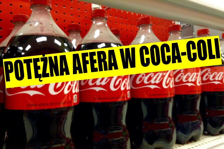 Odchody w Coca-Coli! Napój wycofywany, afera uderza w koncern