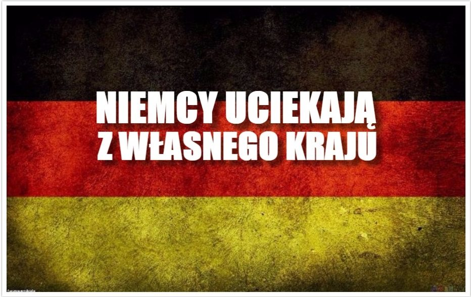 Prawdziwy dramat Niemców. Masowo uciekają z własnego kraju