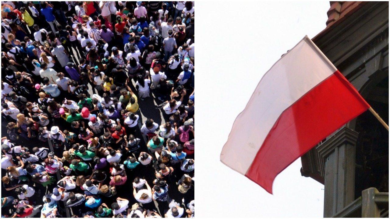 Polska straż graniczna odparła falę imigrantów