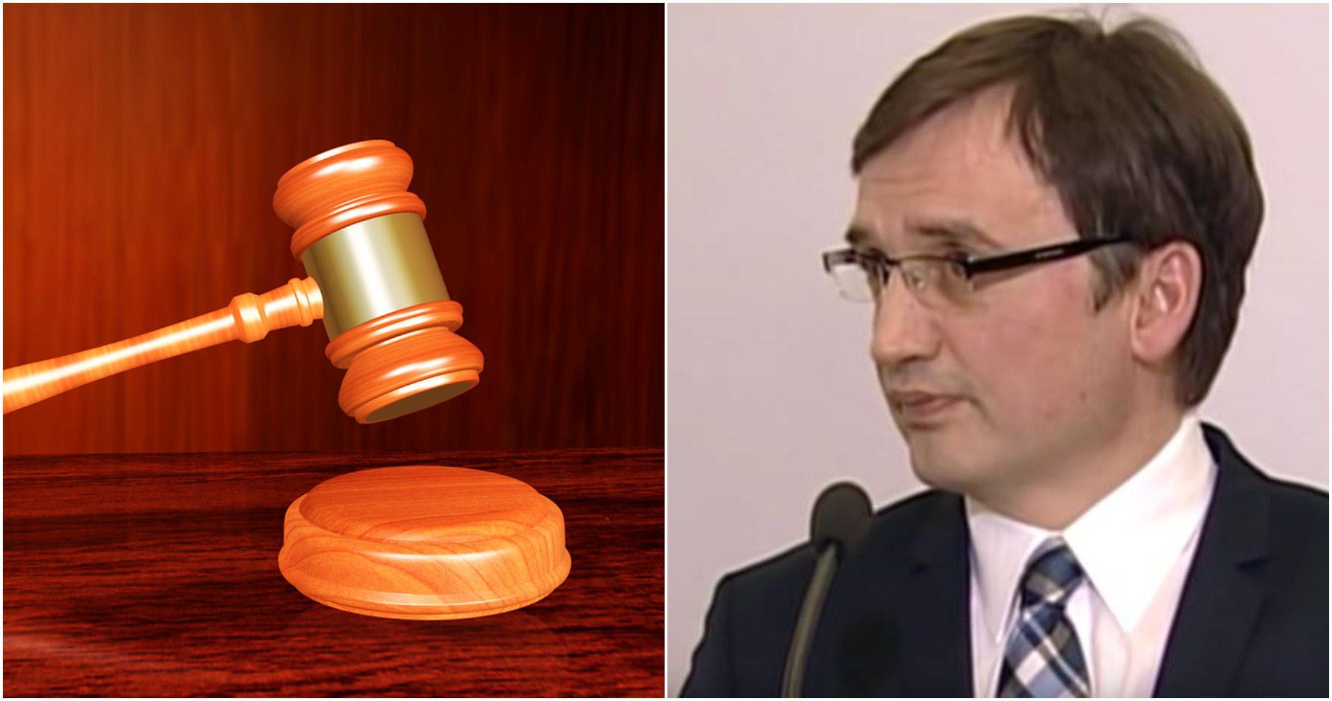 Reforma sądownictwa Ziobry skrytykowana w Europie. Minister zarzuca brak profejsonalizmu