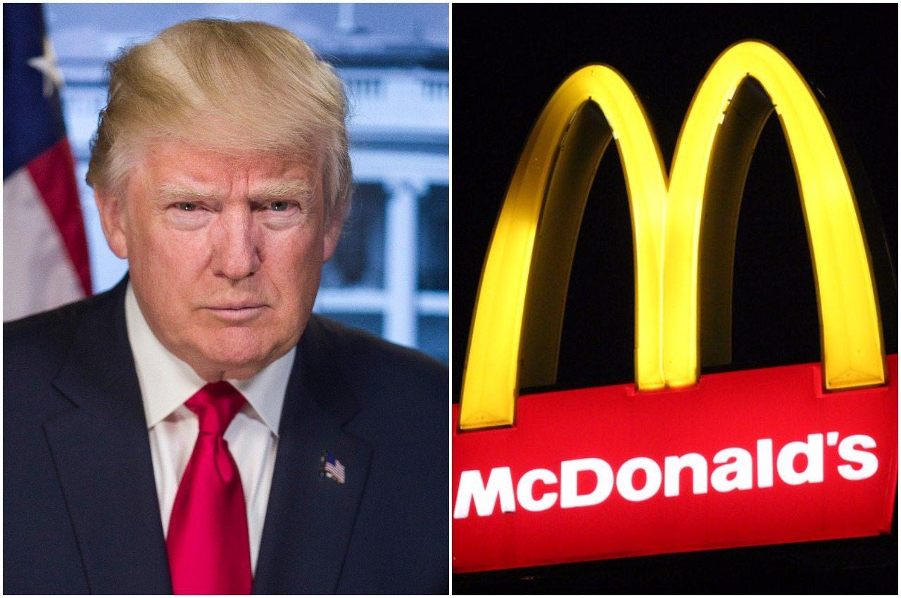 McDonald's ostro uderza w Trumpa na Twitterze. Już jest śledztwo w sprawie wpisu