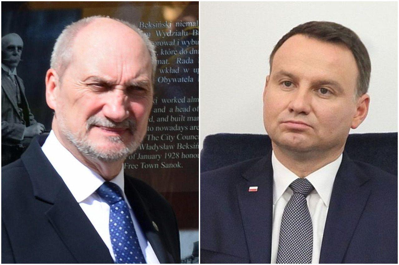 Spięcie na linii Duda-Macierewicz. Bezpieczeństwo kraju budzi wątpliwości prezydenta