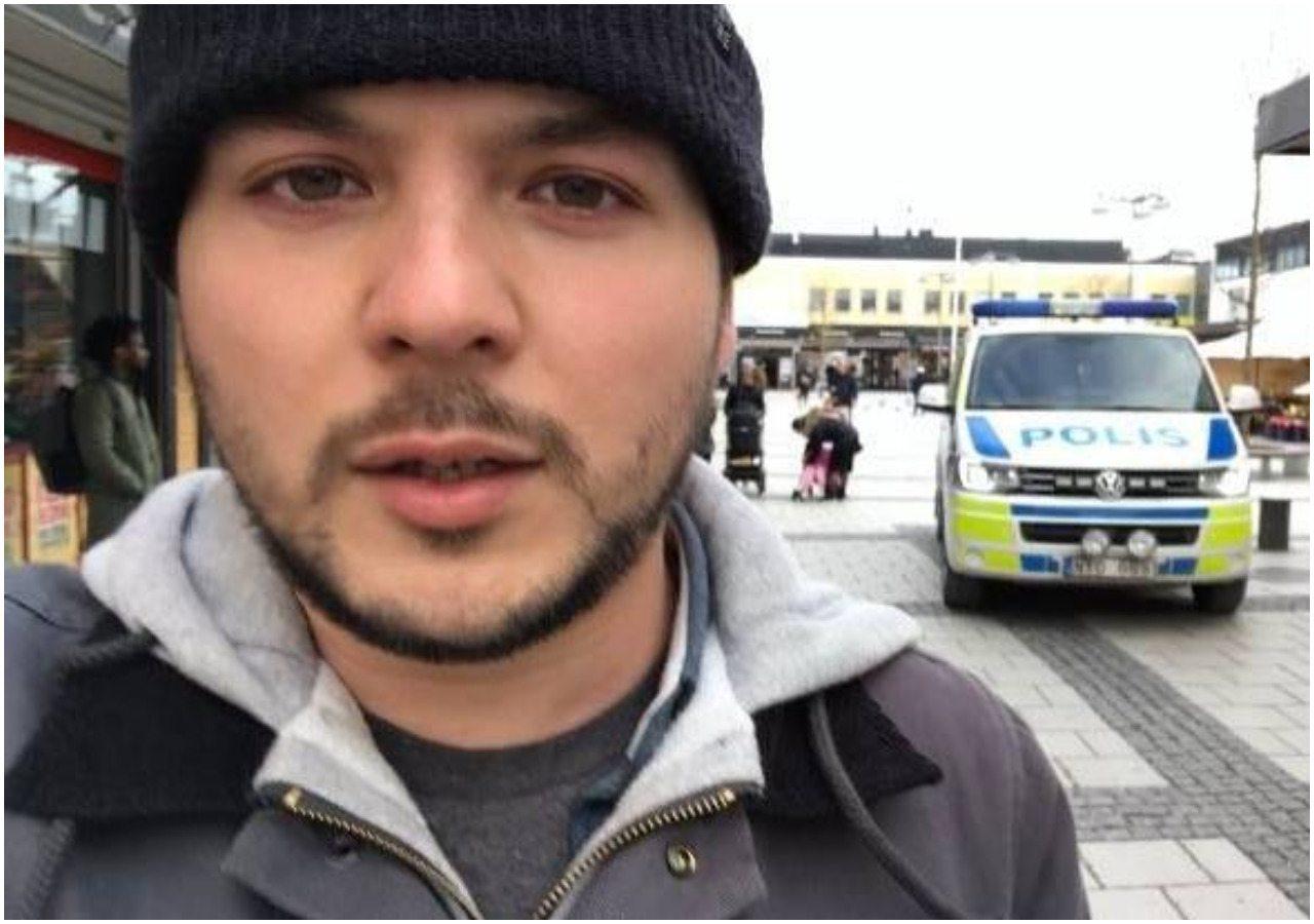 Popularny obrońca muzułmanów wjechał do Malmoe. Po zobaczeniu TEGO zmienił zdanie (VIDEO)
