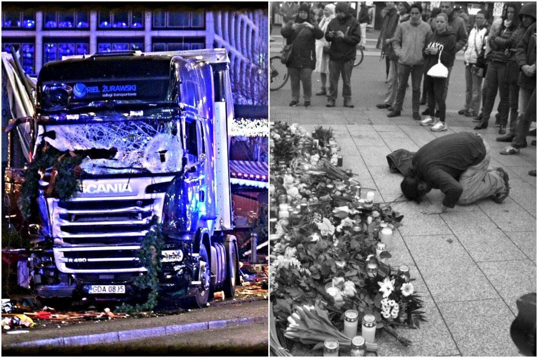 Islamistyczna pikieta w miejscu zamachu w Berlinie. Opinia publiczna oburzona