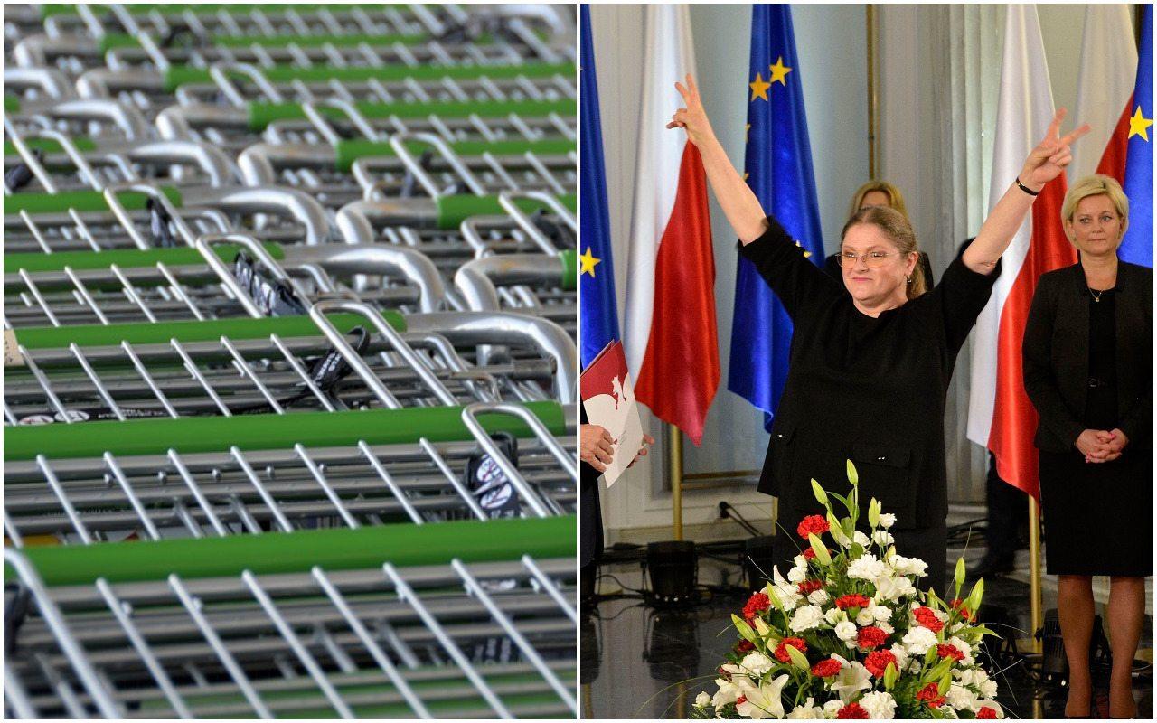 Krystyna Pawłowicz jednym listem załatwiła niemiecką sieć. Teraz chwali się szczegółami
