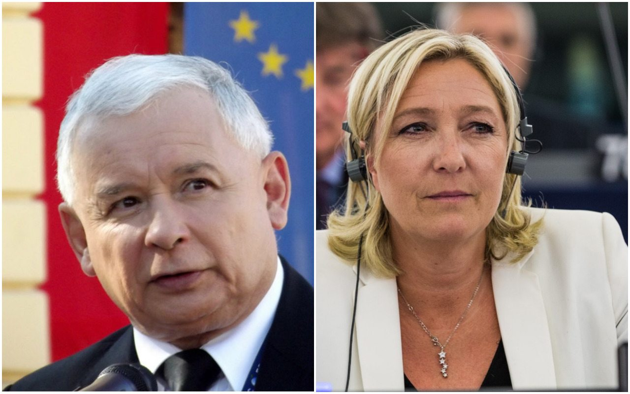 Kaczyński ostro o Le Pen. Takiego porównania nikt się nie spodziewał