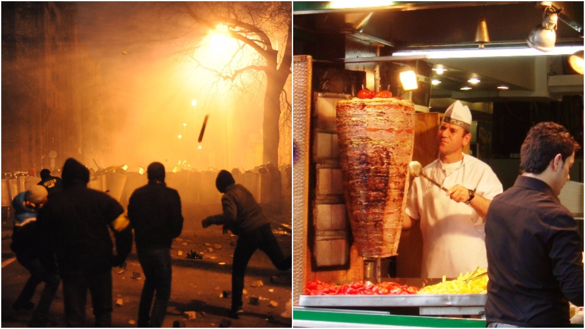 Wiadomo kim są ludzie, którzy zaatakowali kebab w Katowicach