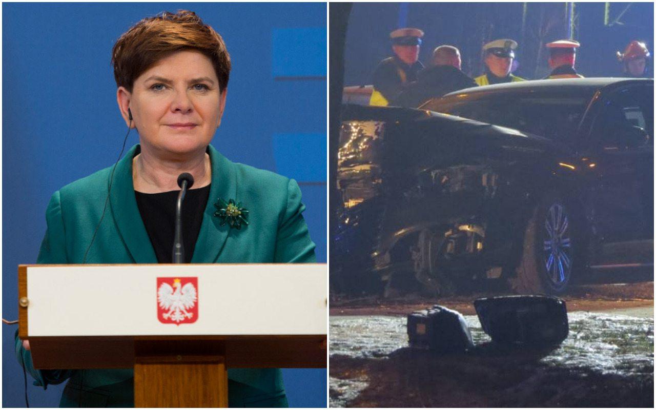 Zeznania premier Szydło ws. wypadku wyszły na jaw