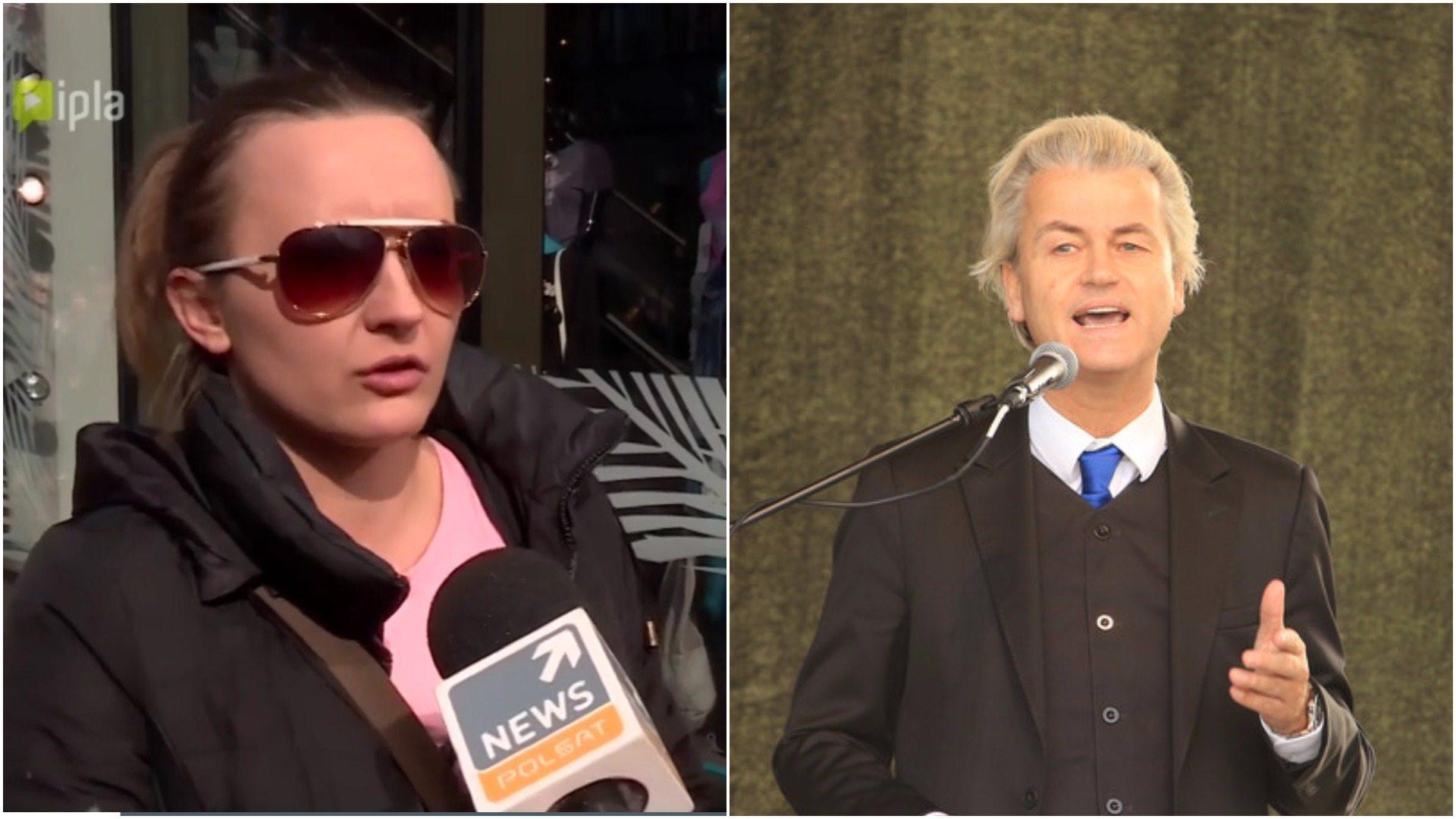 """Polka w Holandii popiera Wildersa. """"Nie wie, co mówi!"""""""