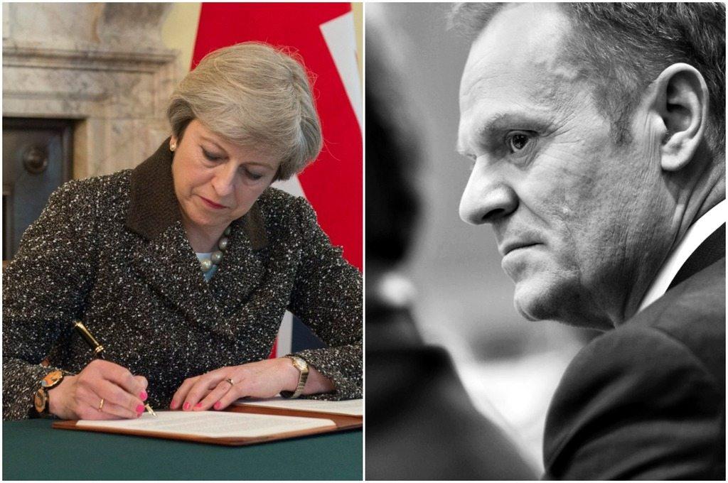 Tusk otrzymał specjalny list od premier Wielkiej Brytanii. Pozbawiła go złudzeń (VIDEO)